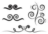 Art swirl — Stock Vector