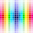 palette rainbow colors — Stock Vector