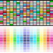Vector de stock : Rainbow colors background