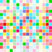 Regenbogenfarben sind zufällig verteilt — Stockvektor