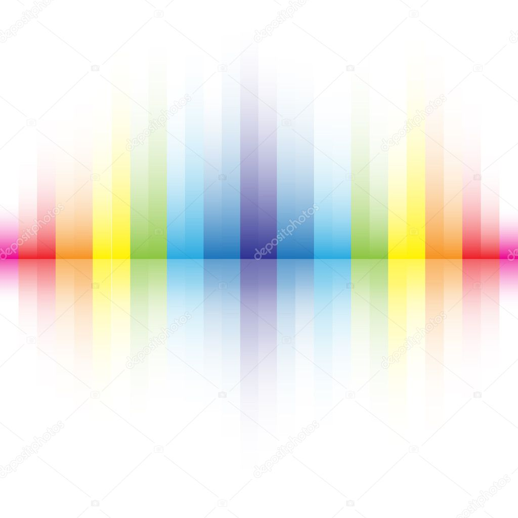 The beautiful gradient rainbow colors background for design — Stock Vector #4898662