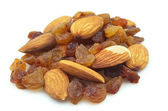 Raisin and almonds — Stockfoto