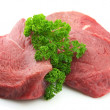 Meat with greens — Stock Photo