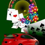 Casino elements. Vector illustration — Stock Vector #4020356