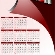 Royalty-Free Stock Vektorfiler: 2011 calendar with American holidays