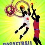 Basketball poster. Vector illustration — Stock Vector #4618102