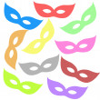 Stock Photo: Varicoloured masks