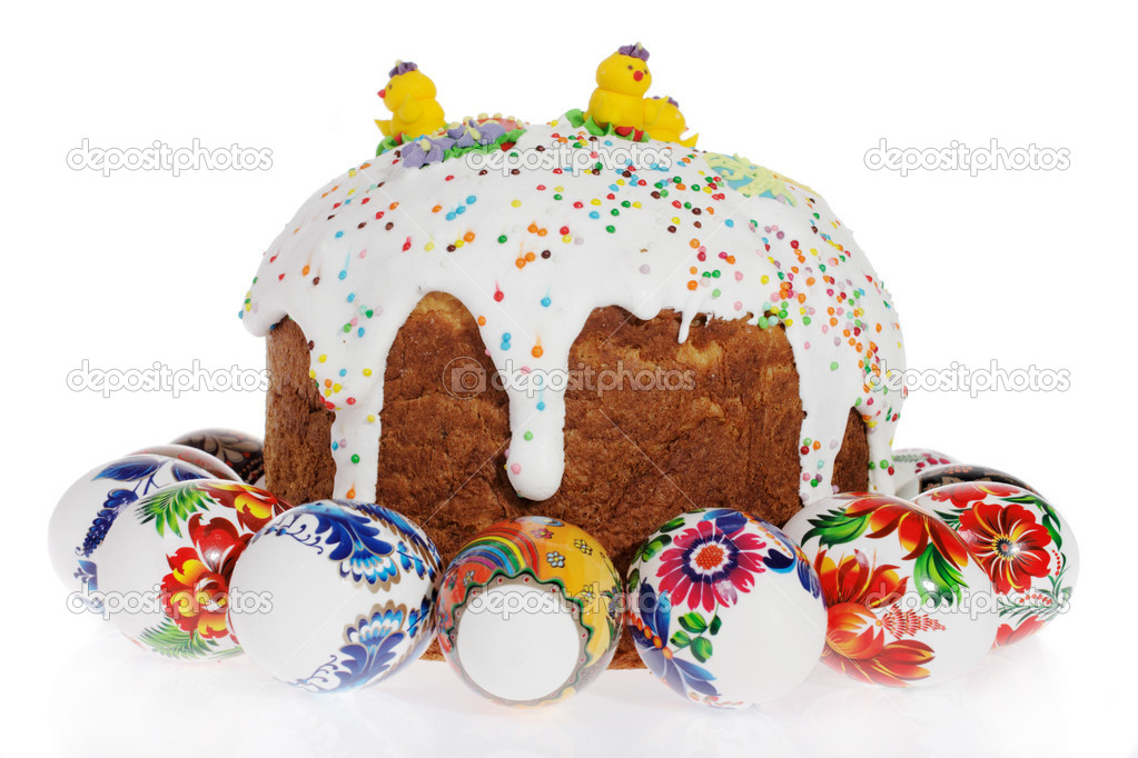 Russian Kulich Cake