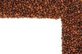 Coffee frame scope background — Stock Photo