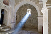 Sunray in church — Stock Photo