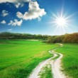Way to sun — Stock Photo #4084842