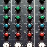 Texture of sound mixer — Stock Photo