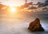 Seascape at sunset — Foto Stock