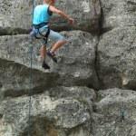 Rock climber — Stock Photo #4289772