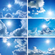 Sky collectie — Stockfoto #4291063