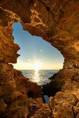 Tramonto in grotta — Foto Stock