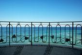 Balcony to the sea — Stock Photo