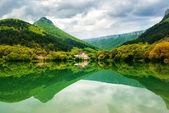 Lake in mountain. — Stock Photo