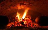 Hot stove — Stock Photo