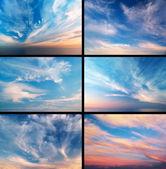 Colección cielo — Foto de Stock