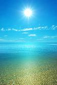 Coast beach på dagen — Stockfoto