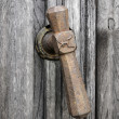 Medieval door handle — Stock Photo