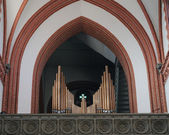Church organ — Stockfoto