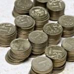 Постер, плакат: Russian coins