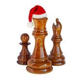 Christmas chess — Foto de Stock