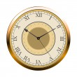 Vintage vector wall clock — Stock Vector