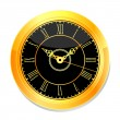 Royalty-Free Stock Vector Image: Classic wall clock