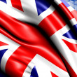 Flag of UK — Stock Photo #5260048