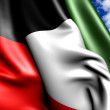 Flag of Kuwait — Stock Photo #5319372