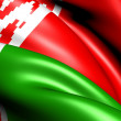 Stock Photo: Flag of Belarus