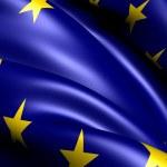 Flag of EU — Stock Photo #5351488
