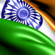 Stock Photo: Flag of India