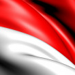 Flag of Indonesia — Stock Photo #5351667