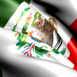 Flag of Mexico — Stock Photo #5351784