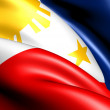 Flag of Philippines — Stock Photo #5351861
