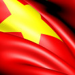 Flag of Vietnam — Stock Photo