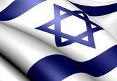 Bandera de israel — Foto de Stock