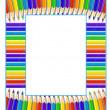 Frame of pencils — Stock Vector