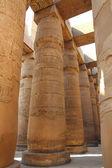 Spalten in Karnak-Tempel — Stockfoto