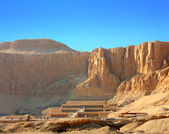 Temple of Hatshepsut in Luxor Egypt — Stockfoto