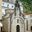 Church of Sveti Luka in Kotor, Montenegro — Stock Photo