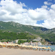 Stock Photo: Becici beach near Budva, Montenegro