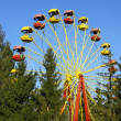 Vintage Ferris wheel - Stockfoto