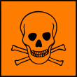 Royalty-Free Stock Vectorielle: Symbol of hazard presents on dangerous products