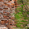 Red brick wall — Stockfoto #4852832