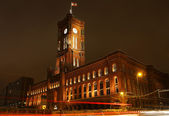 Red Town Hall (Rotes Rathaus) in Berlin — Stock Photo